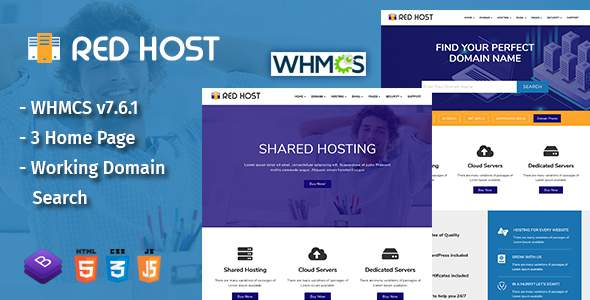 RedHost Web Hosting HTML Template            TFx Aidan Tyrrell