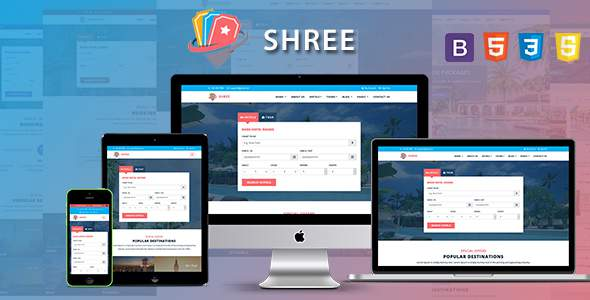 Shree - Travel and Tourism Agency HTML5 Template            TFx Lenard Sora