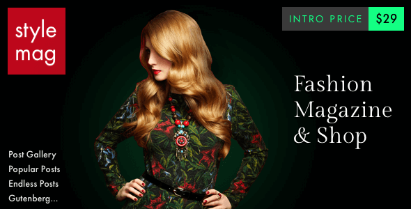 Stylemag - Fashion Magazine & Shop WordPress Theme            TFx Caleb Wo