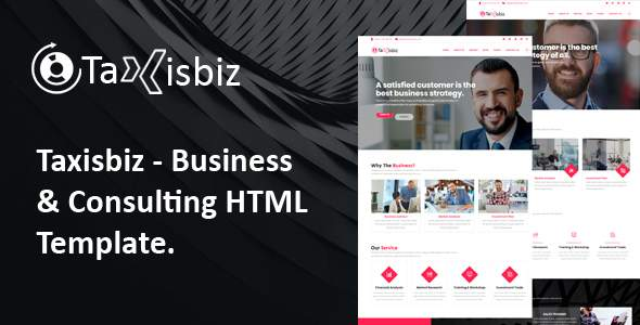 Taxisbiz – Consulting & Business HTML Template            TFx Irwin Nobu