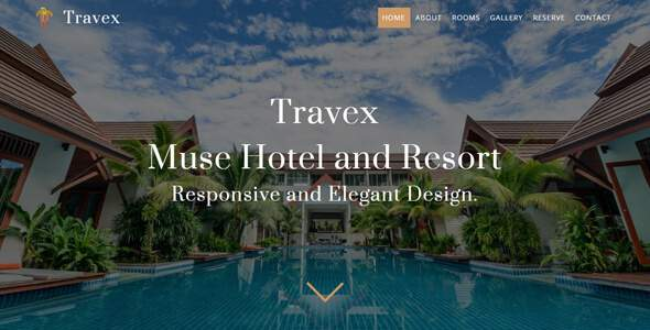 Travex _ Hotel and Resort Muse Template            TFx Mat Jack