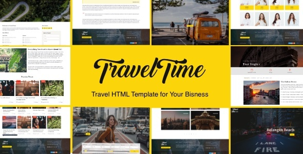 VoyageTime - Tour & Travel Agency HTML5 Template            TFx Fulton Mahmud