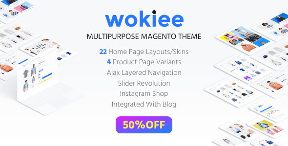 Wokiee – Multipurpose Fashion Magento Theme            TFx Avag Piers