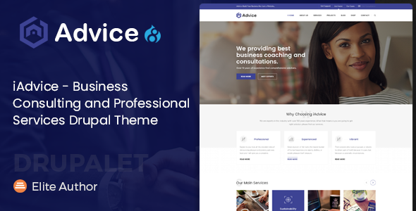 iAdvice – Business Consulting and Professional Services Drupal Theme            TFx Amir Dallas