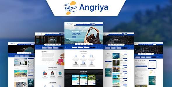 Angriya -  PSD Template            TFx Ronnie Christian