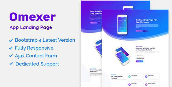 App Landing Page - Omexer            TFx Ormond Marlin