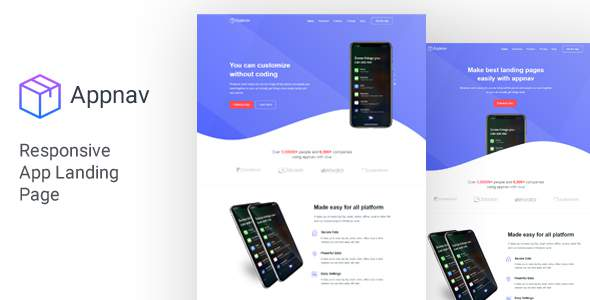 Appnav - App Landing Page            TFx Jax Takahiro