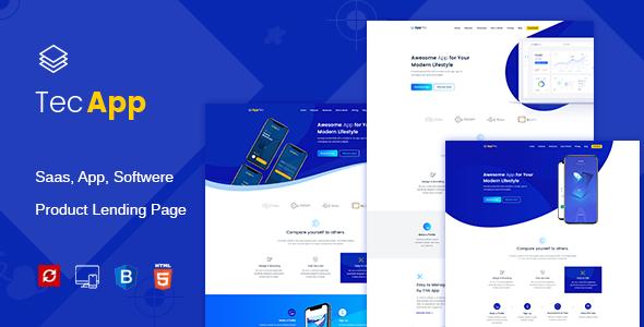 Apptec | App Landing HTML Template            TFx Kennard Geoffrey