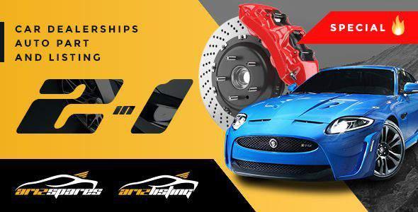 Azirspares - Automotive WordPress Theme            TFx Aidan Merrick