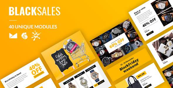 BlackSales Email-Template + Online Builder            TFx Ferdy Murray