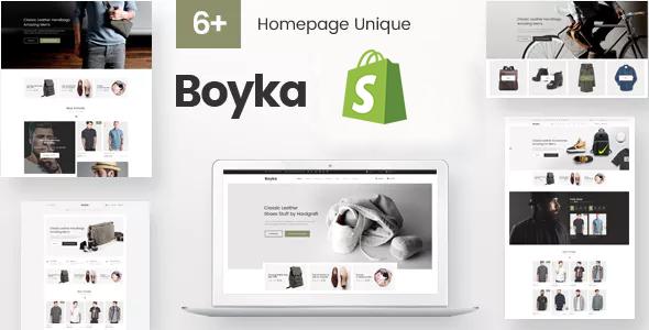 Boyka - Fashion eCommerce Shopify Theme      TFx Jaymes Hadyn
