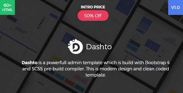 Dashto - Bootstrap 4 Powerfull Admin Template            TFx Clancy Sigmund