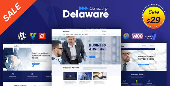 Delaware - Consulting Business, Finance WordPress Theme            TFx Jefferson Ulric