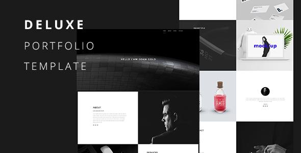 Deluxe-Creative Portfolio Template            TFx Wilbur Hikaru