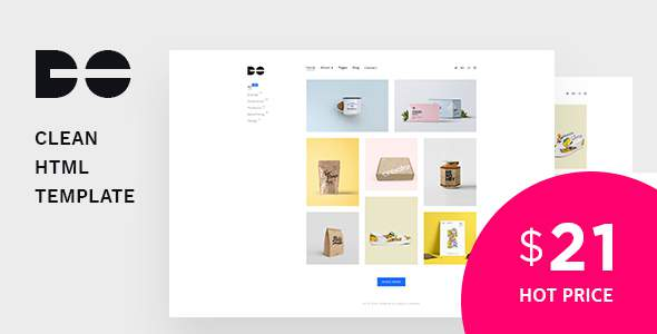 Do - Clean and Minimal Portfolio HTML Template            TFx Adolph Ryota