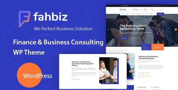 Fahbiz - Finance & Business Consulting WordPress Theme            TFx Boyce Terry