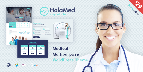 HolaMed – Medical Diagnostic Clinic WordPress Theme            TFx Temujin Ethelred