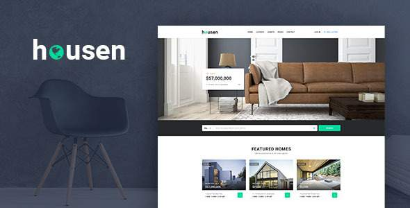 Housen – Real Estate PSD Template            TFx Hardy Ahtahkakoop