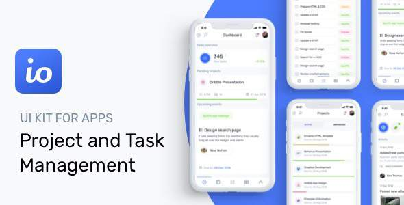 IOTASK Mobile - UI Kit for Todo & Management Apps            TFx Jeffry Clifford