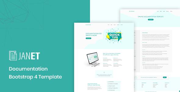 Janet – Online Documentation, Knowledge Base, Help Desk Template      TFx Arvel Lindsey