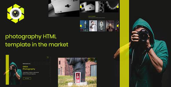 Kliky - Photography Website Template            TFx Denis Darin