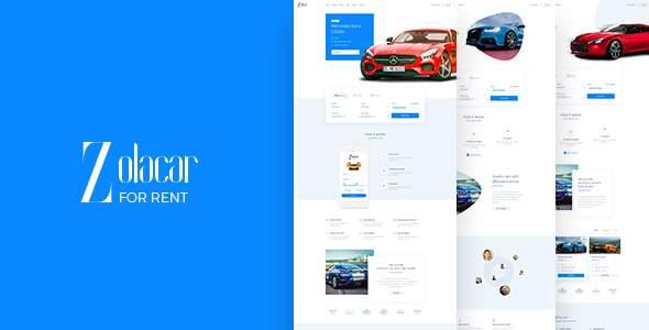 Leo Rent Car - Car Rental Website            TFx Cedric Damian
