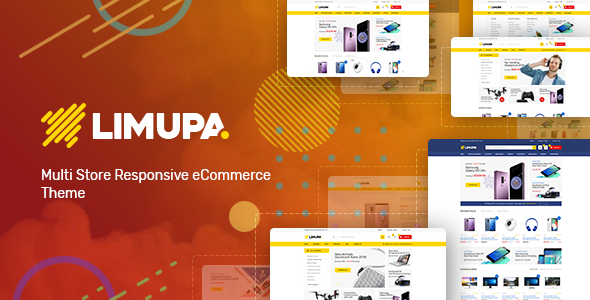 Limupa – Technology OpenCart Theme (Included Color Swatches)            TFx Herman Norbert