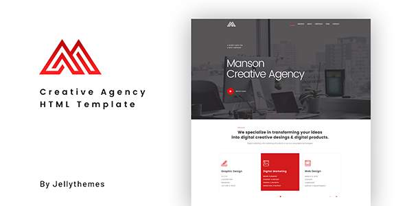 Manson - Creative Agency HTML Template            TFx Phil Alger