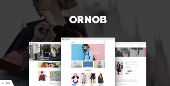 Ornob – Modern eCommerce PSD Template            TFx Eustace Kimball