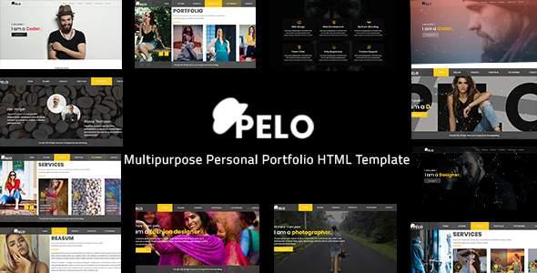 Pelo - Multipurpose Personal Portfolio HTML Template            TFx Eldred Carlton