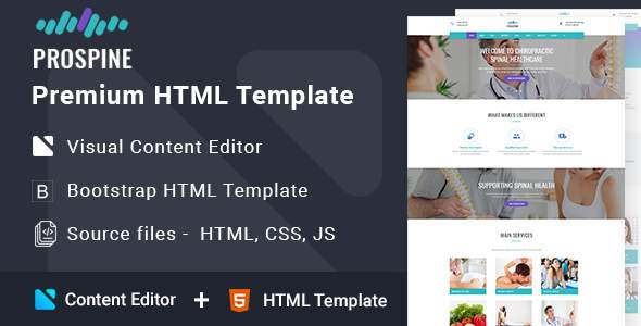 Prospine - Medical Multipage HTML5 Template            TFx Rickey Kenyon
