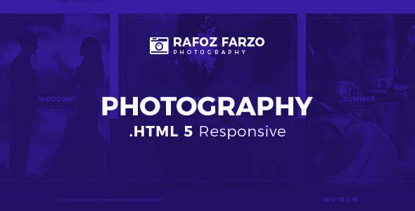 Rafoz Photography HTML Template            TFx Brooks Azat