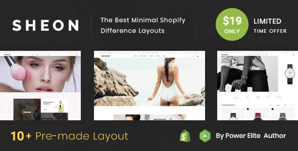Sheon - Sectioned Multipurpose Shopify Theme            TFx Jolyon Bagus