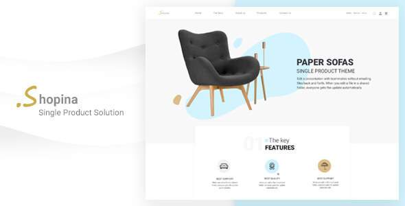Shopina - HTML Template For Online Store      TFx Clarence Arman
