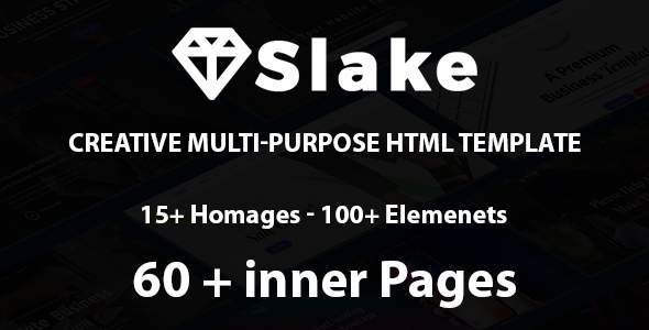 Slake | The Multi-Purpose HTML5 Template            TFx Colten Howie