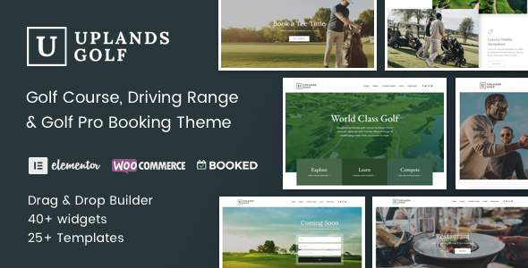 Uplands - Golf Course WordPress Theme            TFx Kurtis Miles