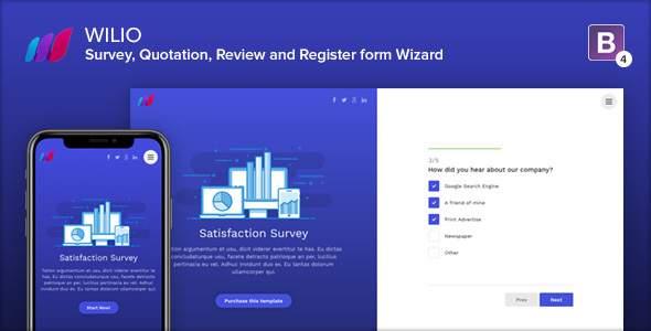 Wilio - Survey and Multipurpose Form Wizard            TFx Corbin Yunuen