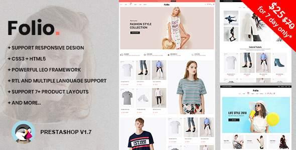 At Folio Prestashop 1.7.4.x Theme for Fashion | Clothing| Bags | Shoes | Accessories        TFx Hammond Youta