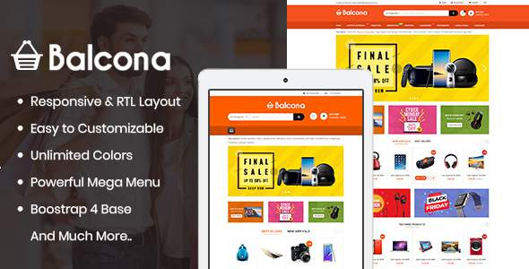 Balcona – The Multipurpose Store OpenCart 3 Theme        TFx Isidore Neely