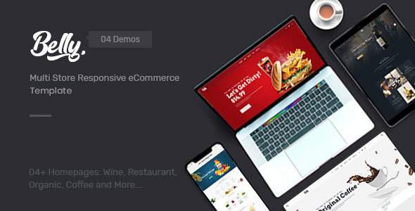 Belly - Multipurpose eCommerce Bootstrap 4 Template        TFx Noble Jiro