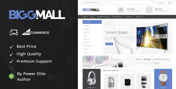 BiggMall - Multipurpose Stencil BigCommerce Theme        TFx Krikor Hammurabi