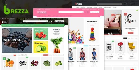 Brezza - Fruit Store Multipurpose HTML Template        TFx Harding Raynard
