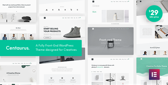 Centaurus - Creative Multipurpose WordPress Theme        TFx Jonathan Aric