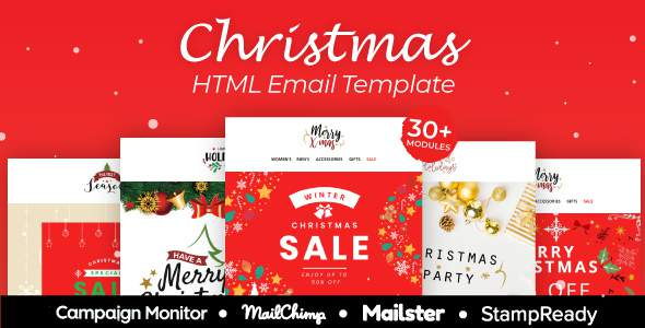 Christmas - Multipurpose Responsive Email Template With StampReady Builder        TFx Hinata Brayden