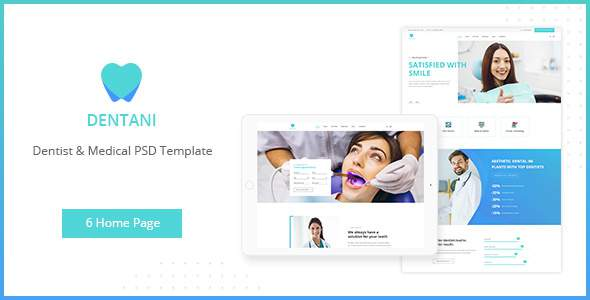 Dentas | Dentist & Medical PSD Template        TFx Paul Josephus
