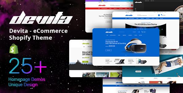 Devita - eCommerce Shopify Theme        TFx Aylmer London