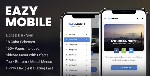 Eazy Mobile | Mobile Template        TFx Donovan Reg