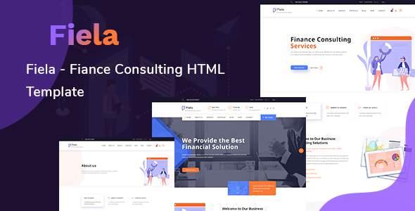 Fiela – Finance Consulting HTML Template        TFx Rain Lalawethika
