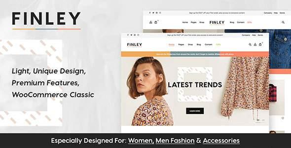 Finley - Fashion WooCommerce Theme        TFx Odeserundiye Devereux