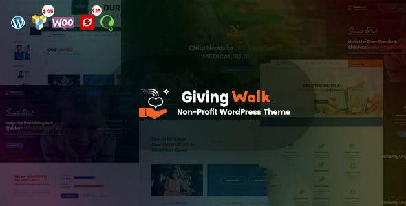 GivingWalk – Multipurpose Nonprofit WordPress Theme        TFx Wilford Jarrett